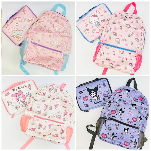 Sanrio June Travel Foldable Backpack