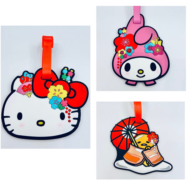 60th Sanrio Anniversary Silicone Luggage Tag