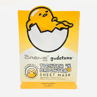 The Crème Shop x Gudetama Tighter 'n Brighter Sheet Mask