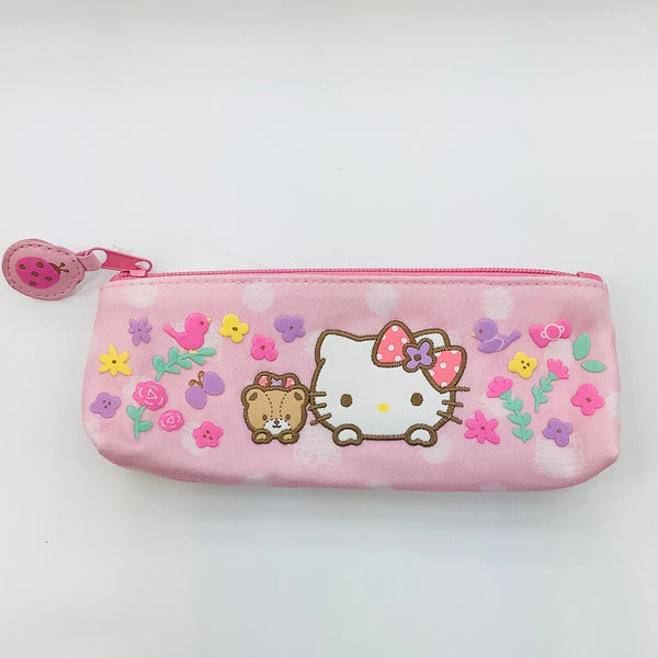 Hello Kitty Flower Circle Pencil Pouch