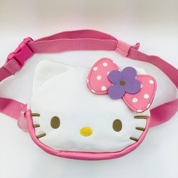 Hello Kitty Flower Circle Fanny Pack