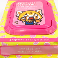 The Crème Shop x Aggretsuko Complete Cleansing Towelettes