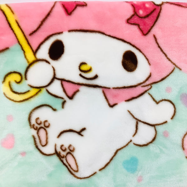 My Melody Mint Blanket