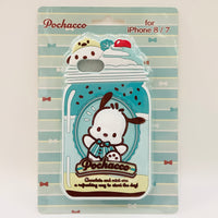 Pochacco Mint Silicone iPhone Case