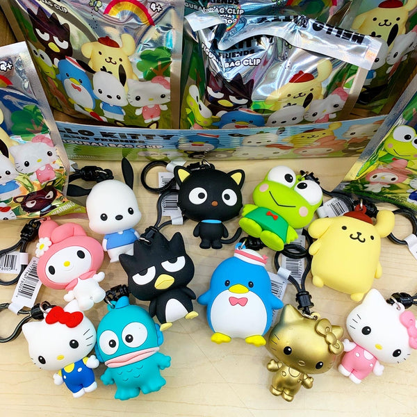 Hello Kitty And Friends Figural Key Clips