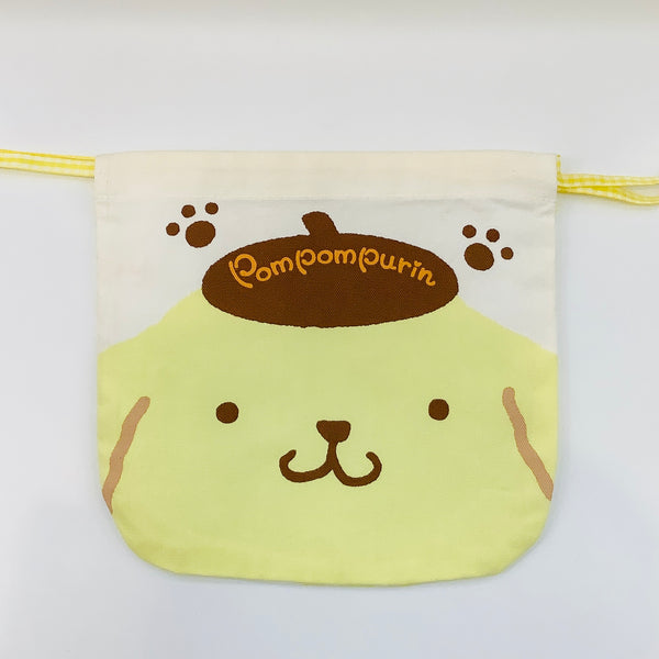 Pompompurin Canvas Drawstring Pouch