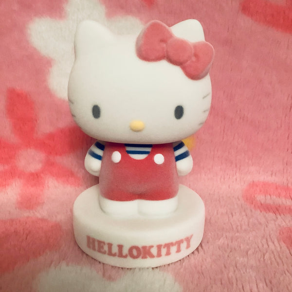 Hello Kitty Flocked Coin Bank