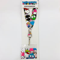 Hello Sanrio x Loungefly Lanyard with Pin Set
