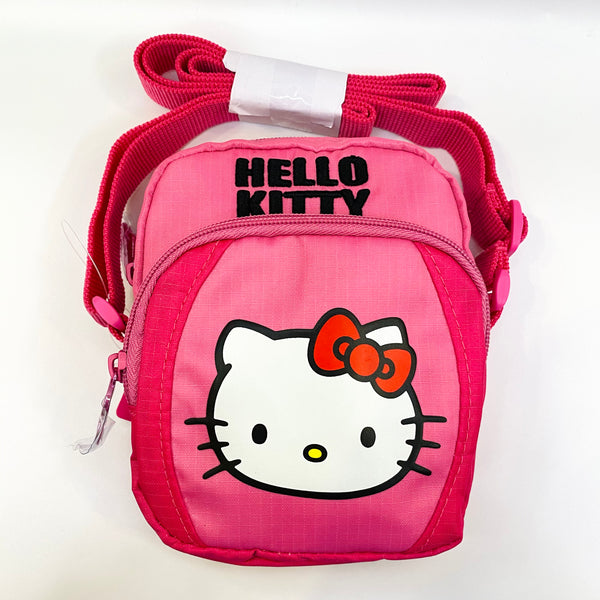 Hello Kitty Face shoulder pouch