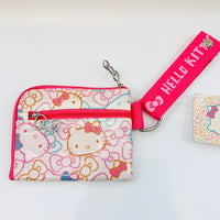 Hello Kitty Color Ribbon Wristlet