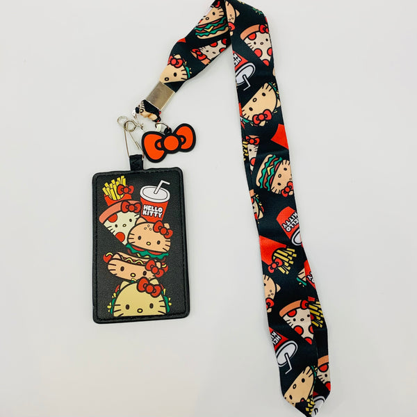 Loungefly x Hello Kitty Snacks Lanyard W/Cardholder