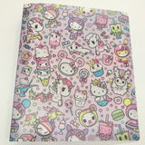 "Magical Tokidoki x Hello Kitty 1"" Binder"