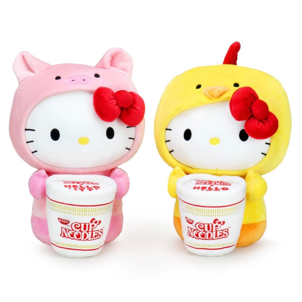 Cup of Noodles X Hello Kitty Medium Plush