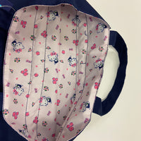 Hello Kitty Navy Drawstring Tote