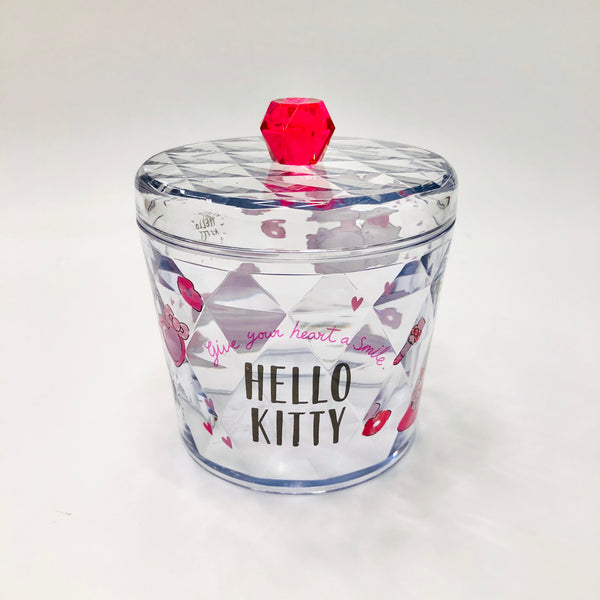 Hello Kitty Clear Canister