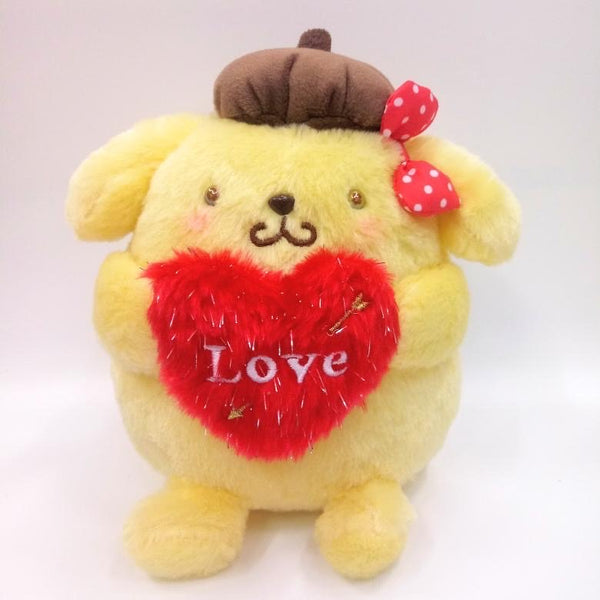 "HEART CUPID POMPOMPURIN 6"" PLUSH"