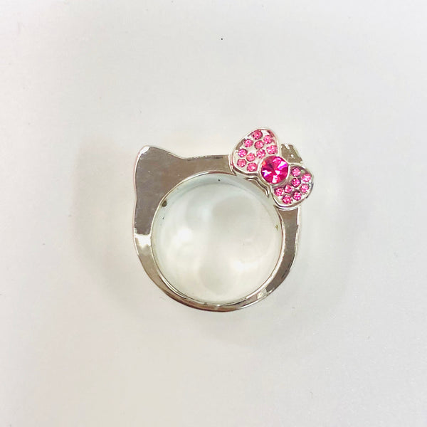 Hello Kitty HK Pink Ring