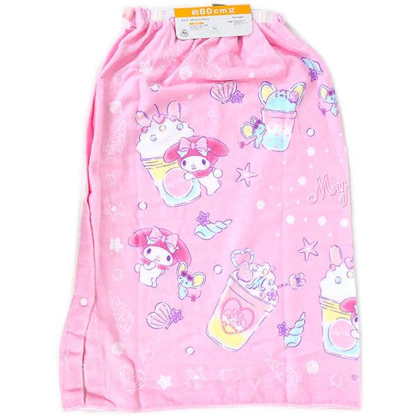 My Melody Shell 80 Wrap Towel
