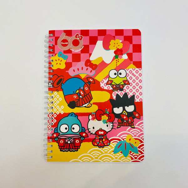 60th Sanrio Anniversary A5 Spiral Notebook