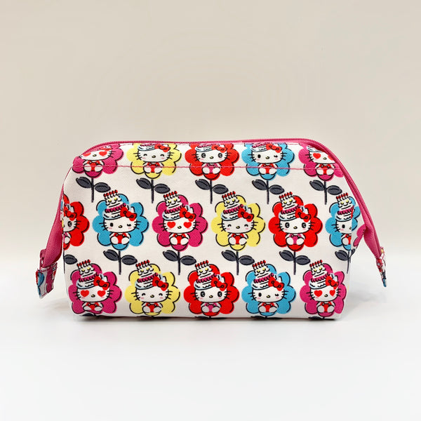 Hello Kitty Flower 45th Anniversary Wire Pouch