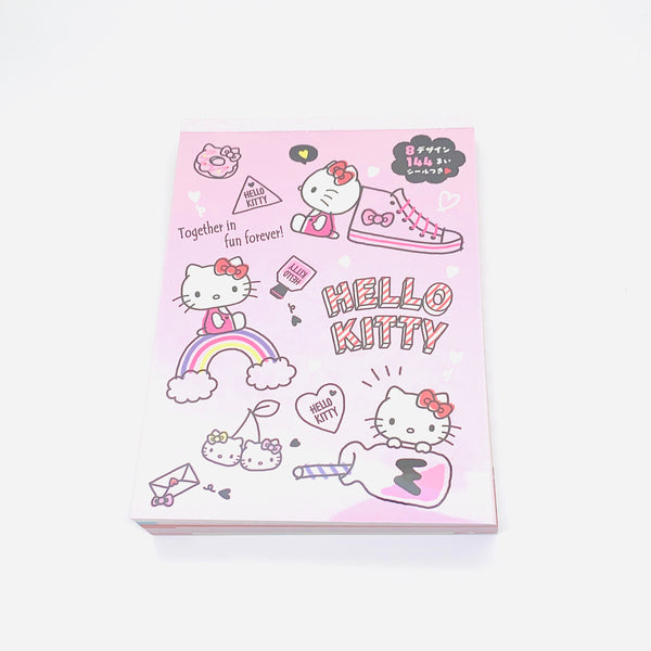 Hello Kitty 8 Design Memo Pad