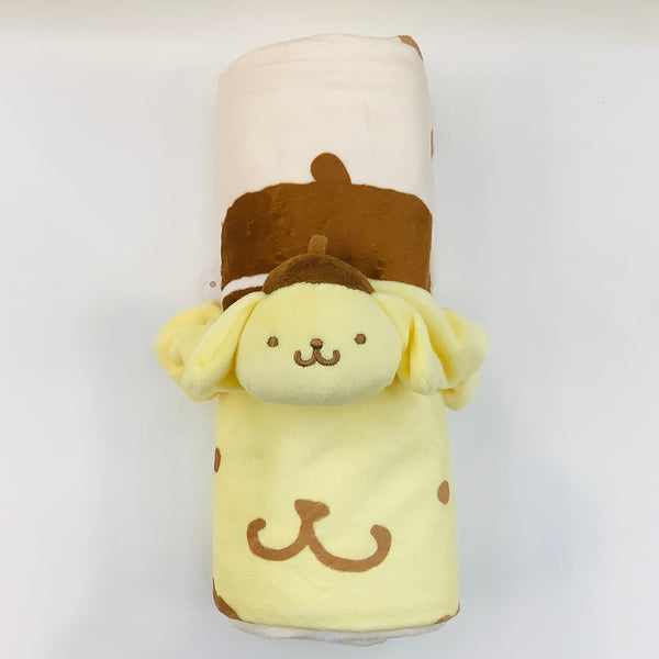 Pompompurin Blanket With Scrunchie