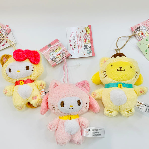 Sanrio Cat Suit Mascot Plush