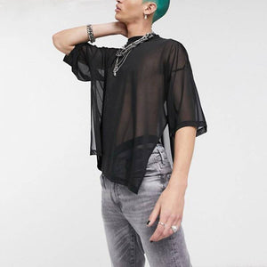 SAINT CHIC MENS OUTERWEAR OVERSIZED Mesh Tee