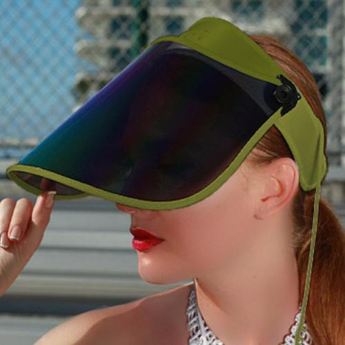 SAINTCHiC UV Visor One Size / OLIVE GREEN OLIVE GREEN PAPARAZZI VISOR™ 1.0 - 50+ UPF - 99% UV PROTECTION - Sun Hat