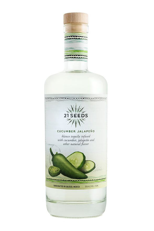21 Seeds Cucumber Jalapeno Blanco Tequila