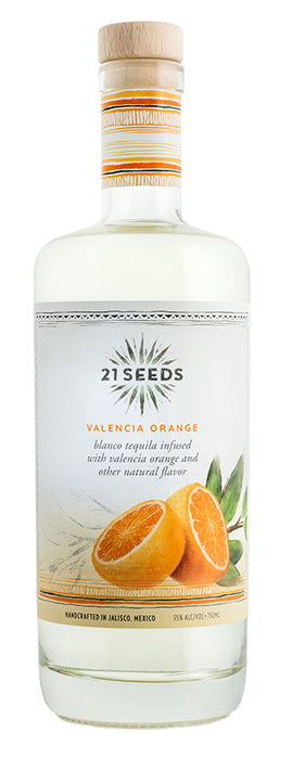 21 Seeds Valencia Orange Blanco Tequila