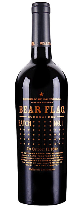 Bear Flag Eureka Batch No 1 Red
