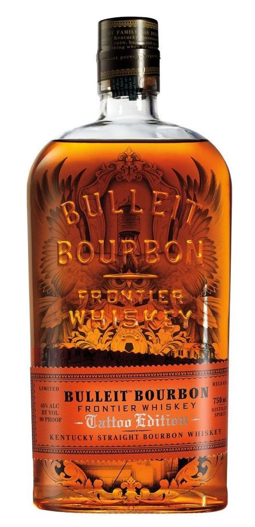 Bulleit Bourbon 750ml - NYC Tattoo Limited Edition