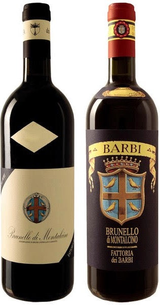 2012 (Limited Release) + 2015 Barbi Brunello di Montalcino - 2-Pack