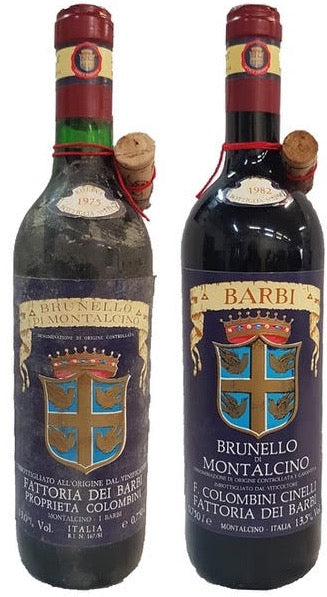1975 + 1982 Barbi Brunello di Montalcino - 2 Pack
