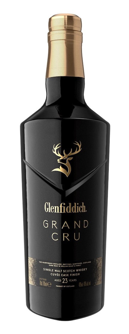 Glenfiddich 23 Year Old Grand Cru Single Malt Scotch Whisky with Gift Box