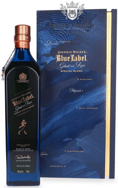 Johnnie Walker Blue Label Ghost & Rare Scotch Whisky - Brora Edition with Gift Box