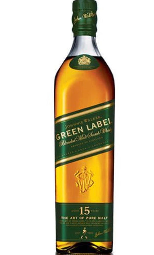 Johnnie Walker Green Label Blended Scotch Whisky 750ml