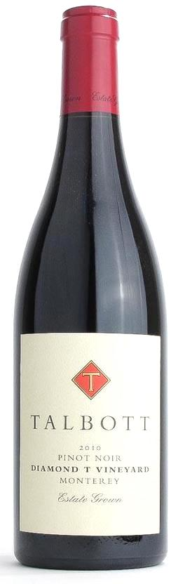 Talbott Diamond T Vineyard Pinot Noir 2010