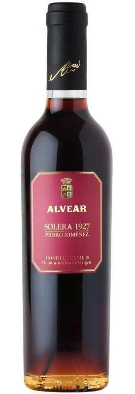 Alvear Solera 1927 Pedro Ximinez Sherry 375ml