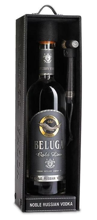 Beluga Gold Line Vodka 750ml - Gift Box
