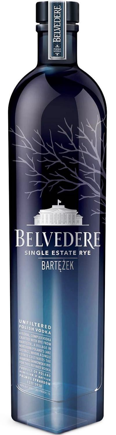 Belvedere Lake Bartezek Single Estate Rye Vodka 1,000ml