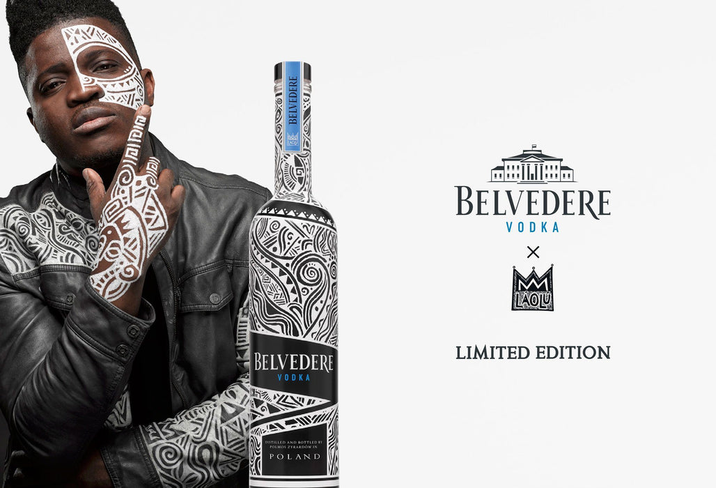 Belvedere (RED) Vodka Limited Edition by Laolu - 1,750ml