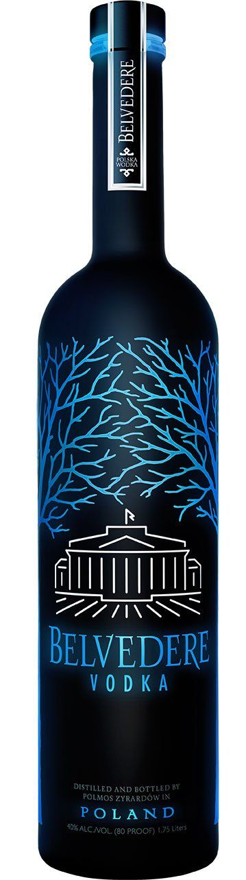 Belvedere Vodka 1,750ml LUMINOUS Night Saber