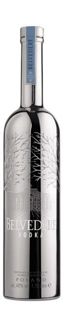 Belvedere Vodka 1,750ml LUMINOUS Silver Saber