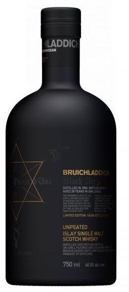 Bruichladdich Black Art Unpeated Islay Single Malt Whisky 2010 750ml