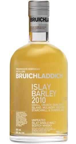 Bruichladdich Islay Barley Unpeated Single Malt Whisky 2010 750ml