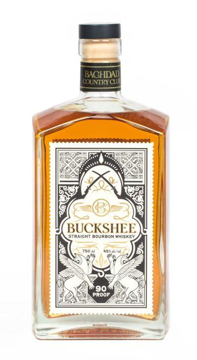 Buckshee Straight Bourbon 750ml