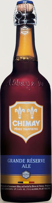 Chimay Blue Label Grande Reserve Ale 750ml