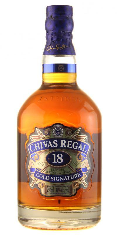 Chivas Regal 18 Year Scotch Whisky 750ml